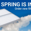 Spring is in The Air. Order new filters and enjoy fresh and clean air!